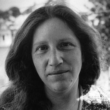 Portrait of poet Diane di Prima