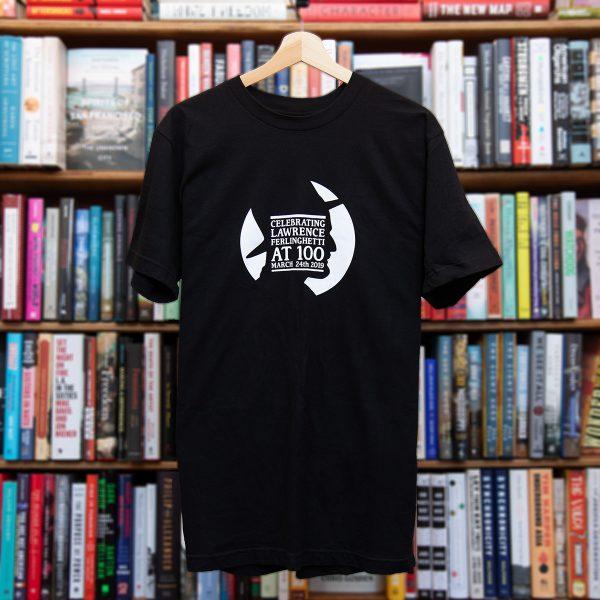 Ferlinghetti Centennial T-shirt