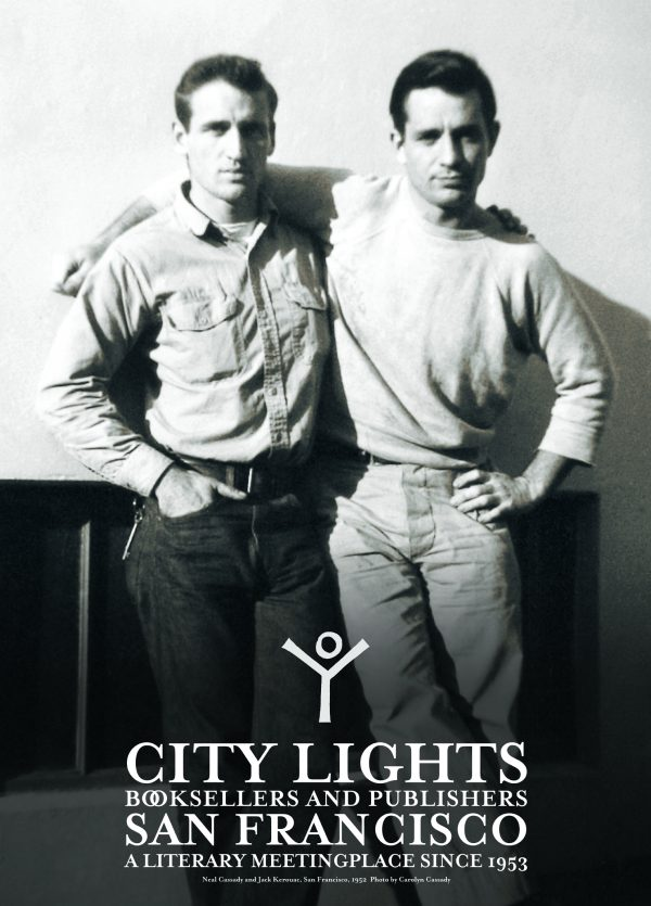 Jack Kerouac & Neal Cassady City Lights Poster
