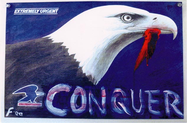 """""""Conquer"""" Lawrence Ferlinghetti"""