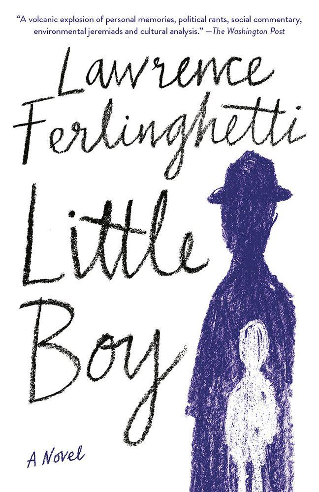 Cover of Ferlinghetti's novel, Little Boy