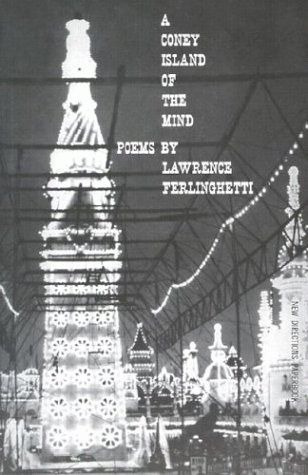 Cover of Ferlinghetti's poetry book, A Coney Island of the Mind