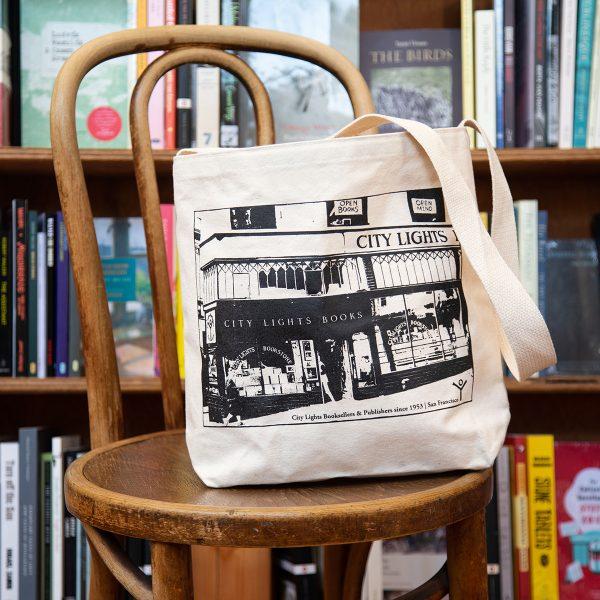 City Lights Storefront Shoulder Bag