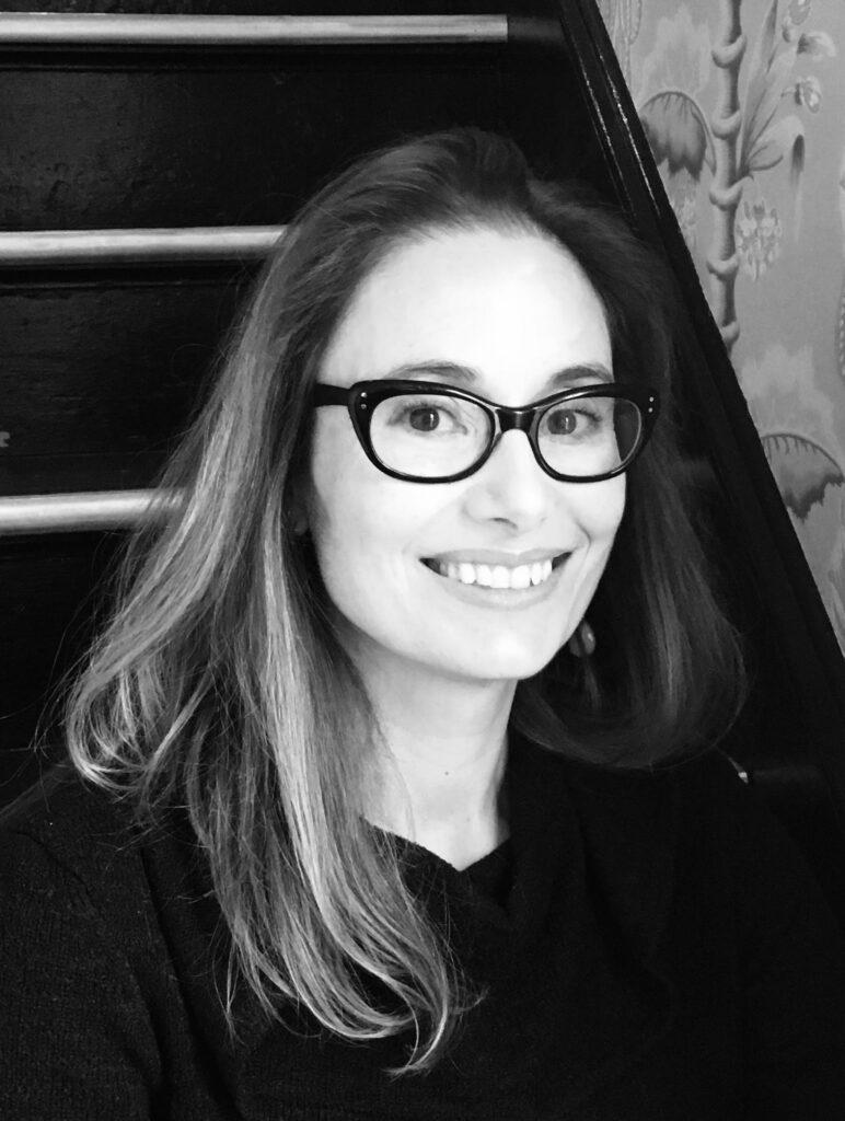 Portrait of author Dana Spiotta smiling