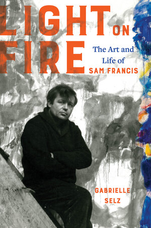 Gabrielle Selz celebrating the launch of LIGHT ON FIRE: The Art and Life of Sam Francis