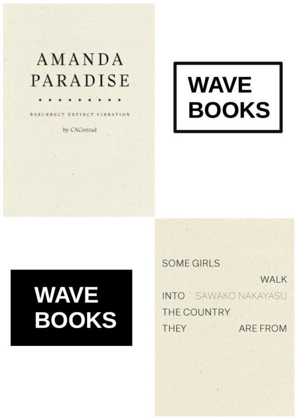 Wave Books @ City Lights with CA Conrad and Sawako Nakayasu